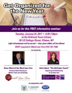 Kirkland photo seminar flier Jan2017