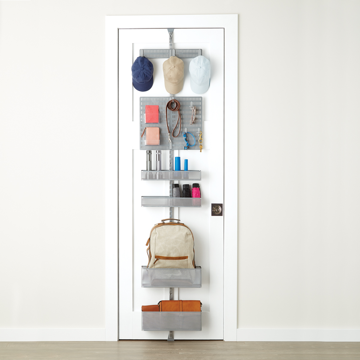 Elfa Door Wall Rack Pantry Storage 2 White Garage Storage